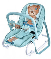 Стульчик-качалка Bertoni Top Relax (Green Cute Bear 1811)