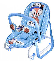 Стульчик-качалка Bertoni Top Relax (Blue Baby Fox 1820)