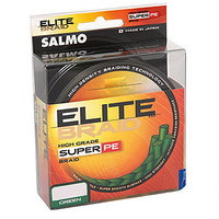 Леска плетёная Salmo Elite Braid Green 125 м, d=0,15 мм, тест 7,4 кг