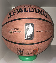 Баскетбольный мяч Spalding замша доставка, фото 2