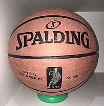 Баскетбольный мяч Spalding замша доставка, фото 3
