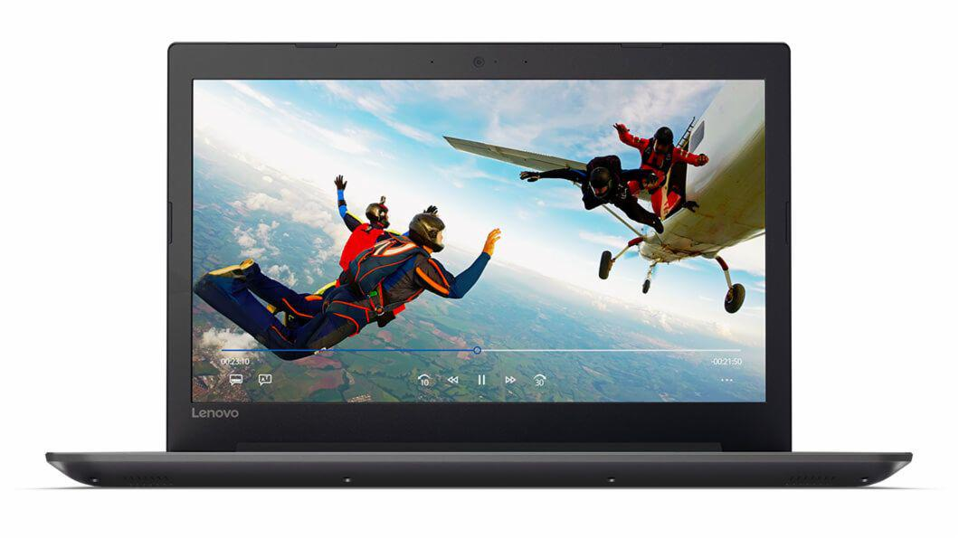 Ноутбук Lenovo IdeaPad 320 17''/ I7-7500U/ 16G DDR4/ 2TB HDD/ GeForce 940MX 2G/ NO ODD/ Win10 Home/ BLACK