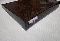 Пластиковый Подоконник Crystallit Венге 30см, фото 1