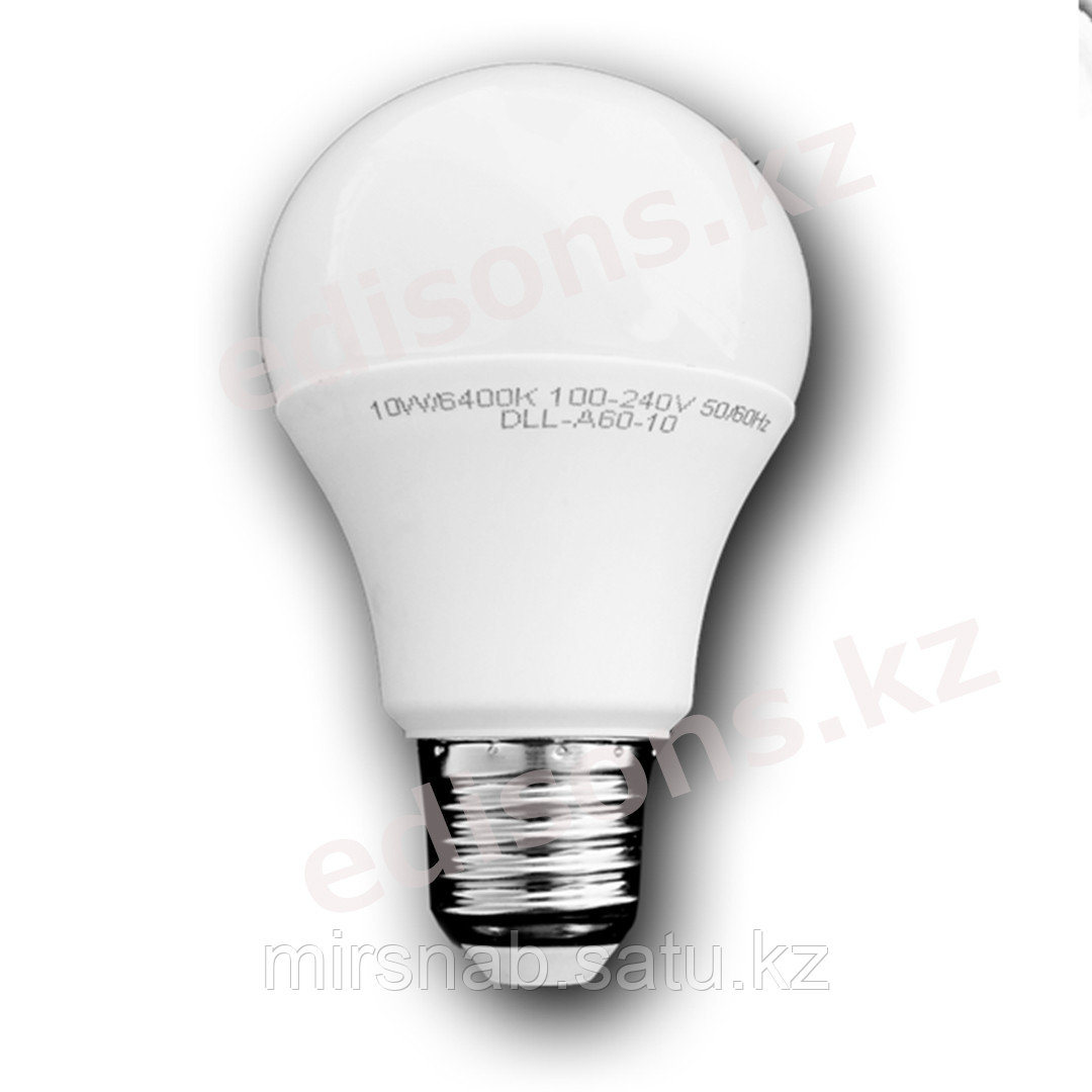 DLL-A60-9 Светодиодная лампа  Е27-9Вт 4000К.ОПТОМ