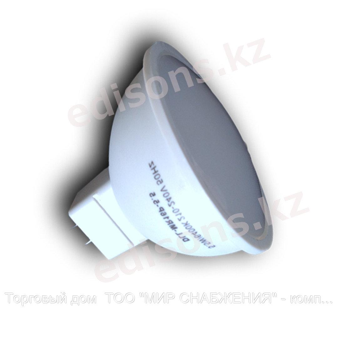 DLL-GU10P-5.5 Светодиодная лампа Тип лампы:GU10-5.5Вт 6400К.ОПТОМ
