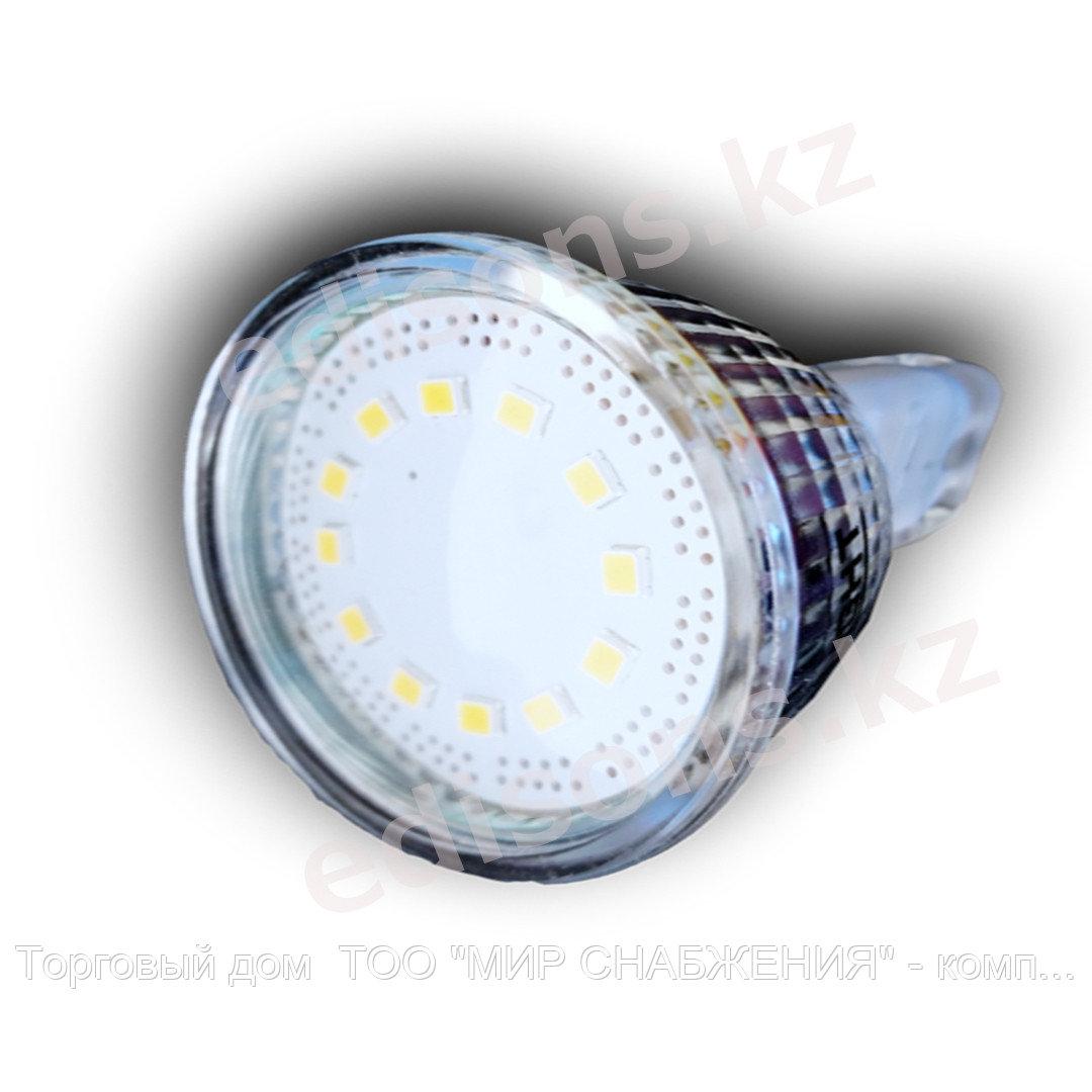 DLL-MR16-5 Светодиодная лампа GU5.3-5Вт Тип лампы: MR16 3000К.ОПТОМ