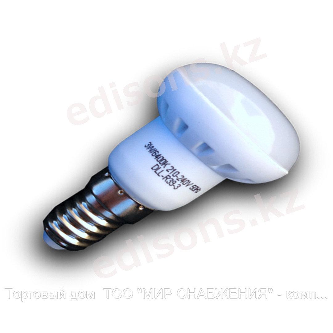 DLL-R39-3 Светодиодная лампа Е14-3Вт 6400К.ОПТОМ