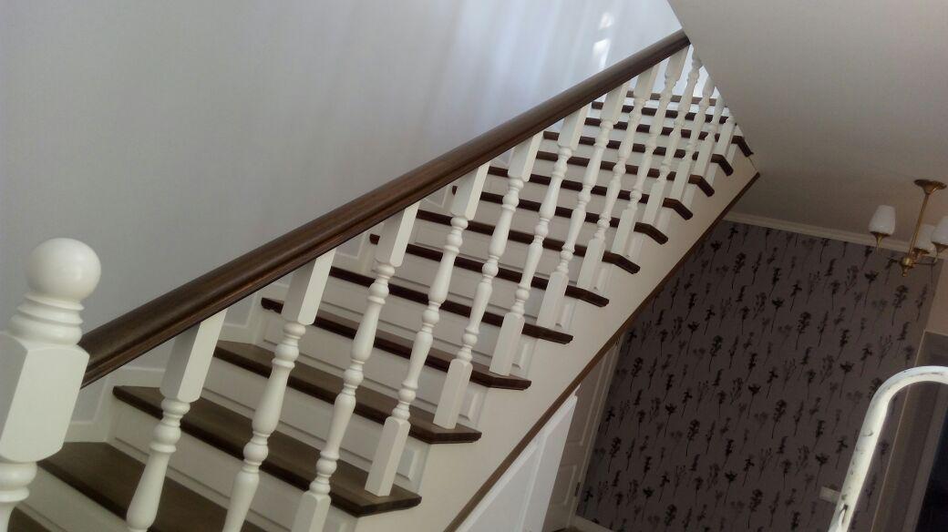 Реставрация старых деревянных лестниц