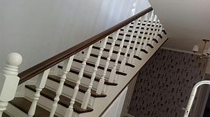 Ремонт и реставрация деревянных лестниц, фото 2