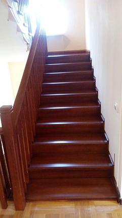 Реставрация деревянной лестницы, фото 2