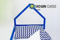 """Изголовье-крыша для кровати """"Skogen classic синий"""", фото 3"""