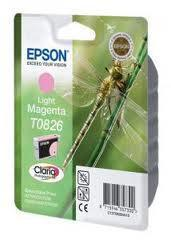 Картридж Epson C13T11264A10 (0826) R270/290/RX590 светло-пурпурный, фото 2