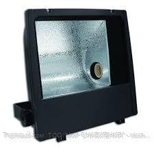 Металлогалогенный прожектор 150W black Rx7s-24