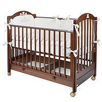 MIBB детская кроватка TENDER NOCE ANTICO Орех