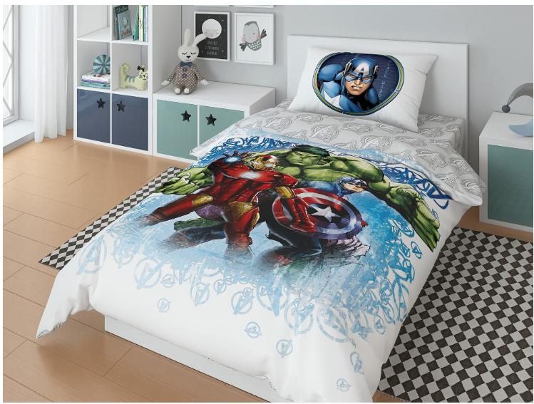 """Комплект постельного белья, Marvel """"Железный человек"""""""