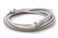 ITK Коммутационный шнур (патч-корд), кат.6А UTP, LSZH, 1м, серый, фото 1