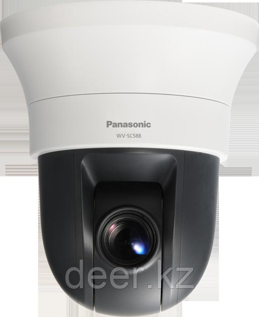 Внутренняя поворотная купольная сетевая камера Panasonic WV-SC588 FULLHD