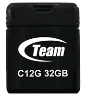 Флеш накопитель USB 2.0 TEAM 32GB C12G DRIVE BLACK TC12G32GB01