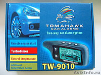 Автосигнализация TOMAHAWK TW-9010, фото 1