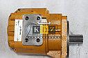 Рулевой насос (шестереночный) 803004104 на погрузчик ZL50G, LW500F, фото 2