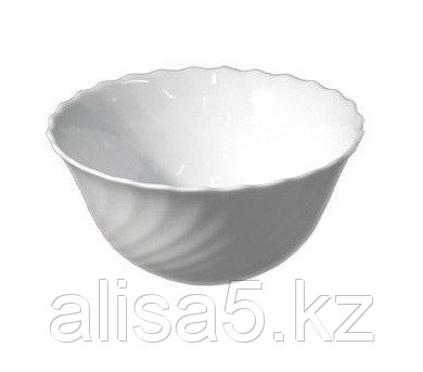 TRIANON салатники маленькие 12 см, белые, 6 шт