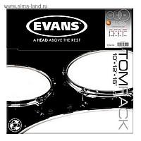Набор пластика для том барабана  Evans BD22RBG Resonant Black 22""