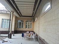 Фасадная штукатурка - жидкий травертин в г. Жезказган