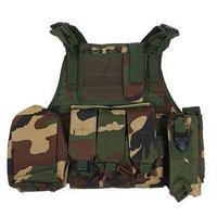 Жилет разгрузочный KINGRIN Tactical vest (Woodland) VE-03-WL