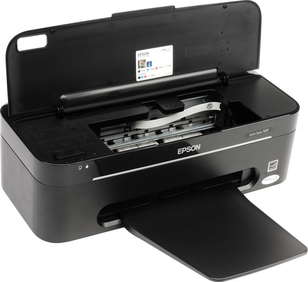 Ремонт принтера Epson Stylus S22