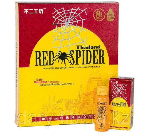 RED SPIDER - Женские капли для возбуждения - 8 шт .
