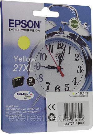 Картридж Epson C13T27144022 для WF-7110/7610/7620 желтый new, фото 2