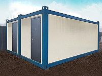Бытовые сборно-разборные блок контейнера., фото 1