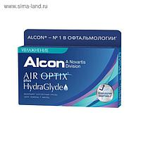Контактные линзы - Air Optix Plus HydraGlyde, +0.5/8,6, в наборе 6шт