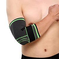 Профессиональный фиксатор локтевого сустава с фиксирующим ремнем, фото 1