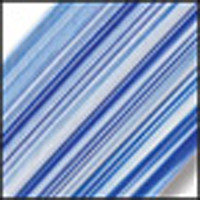 STRIPE/431-76SF Crystal Clear/Ivory/Cobalt Blue, «Vienna»