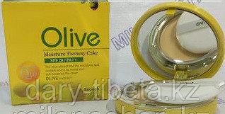 Enough Moisture Twoway Cake Olive SPF28/PA++&Coenzyme Q10-Пудра с экстрактом масла оливы и коэнзимом
