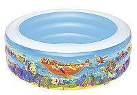 """51121 BW Детский круглый бассейн """"Подводный мир"""", 152х51 см, 400 л"""
