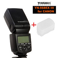 YN-568EX -N III HSS (3-я версия) для NIKON+ рассеиватель в Подарок , фото 1