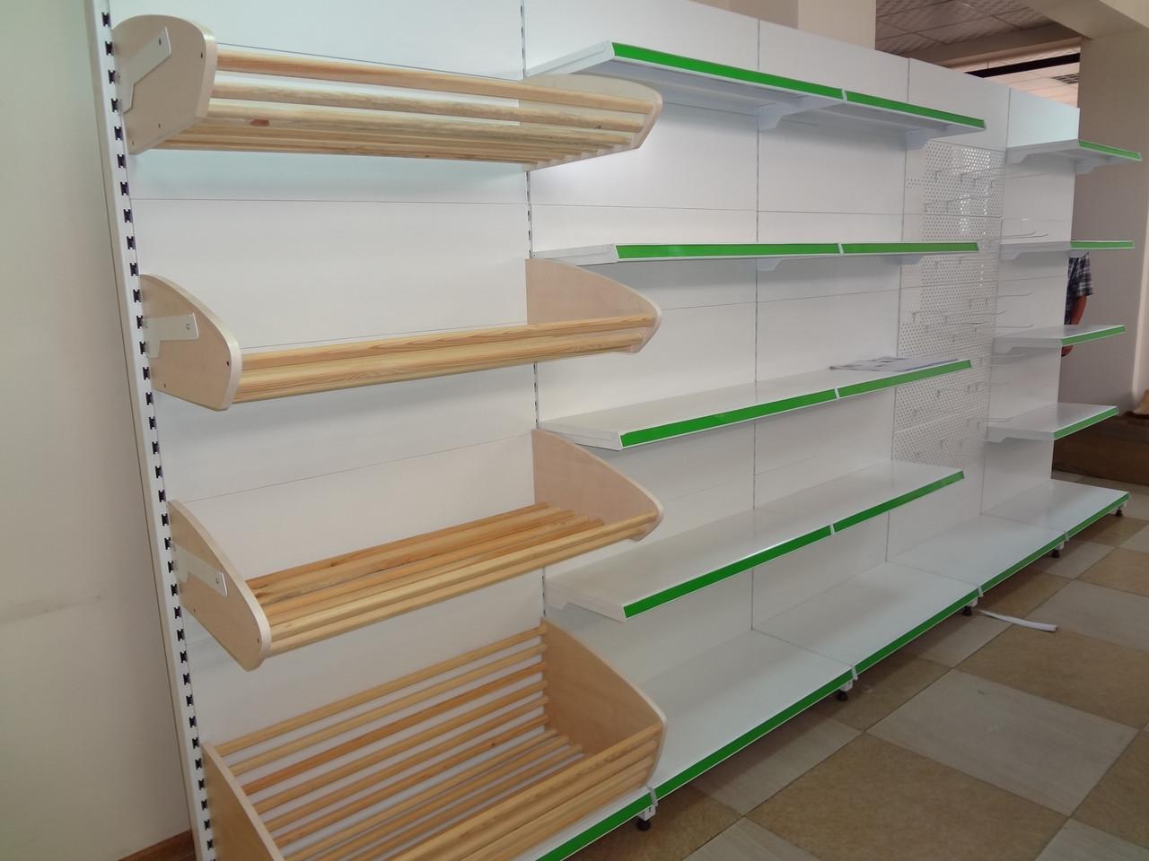 Стеллаж хлебный 2200*500