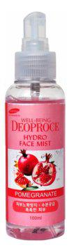 Deoproce Well-Being Hydro Face Mist Pomegranate-Мист для лица увлажняющий с экстрактом граната