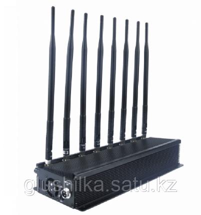 "Глушилка стационарная ""Пиранья Х8-4G"" 20W, до 40 метров, фото 2"