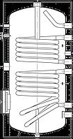 Бак ВТЕ-2 200 л, 2 теплообменника