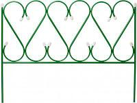Забор декоративный Grinda Ренессанс 422263 (металлический, 50x345см)