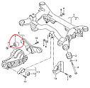 Сайлентблок редуктора заднего моста Audi A6 4WD 98-05,Passat B6 4WD 98-05 (NEW), фото 2