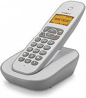 Бесшнуровой телефонный аппарат teXet TX-D4505A белый-серый