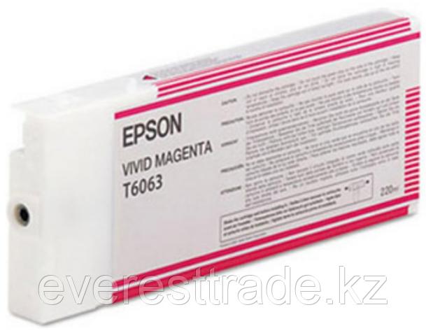 Картридж Epson C13T606300 SP-4880 пурпурный