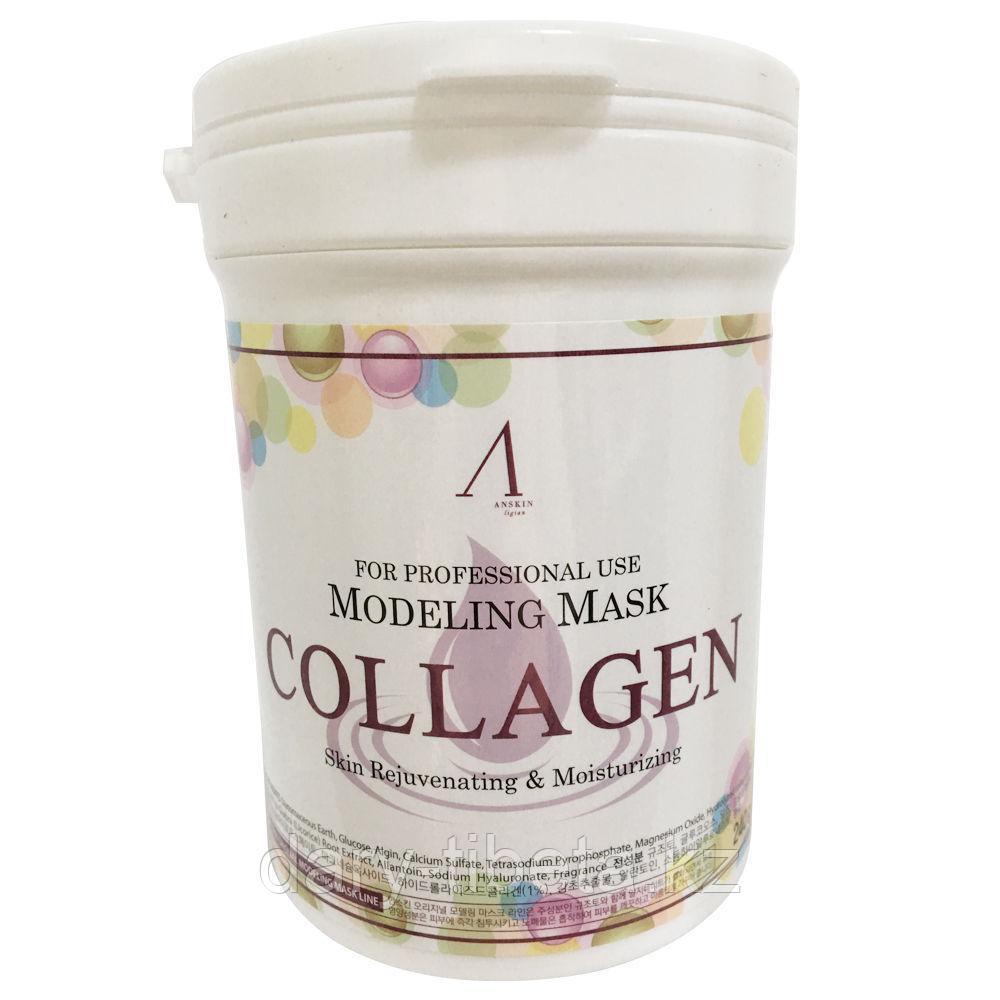 Anskin Original Collagen Modeling Mask-Альгинатная укрепляющая маска с коллагеном