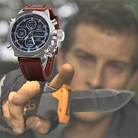 Нож Gerber Bear Grylls Ultimate и часы AMST
