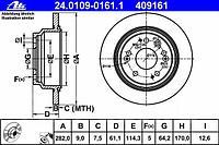 ATE Тормозной диск HONDA ACCORD Kombi (03-08)