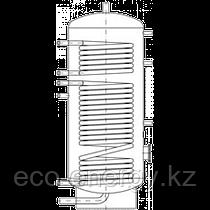 Бак ВТН-1, 300 л из нержавеющей стали, 2 теплообменника